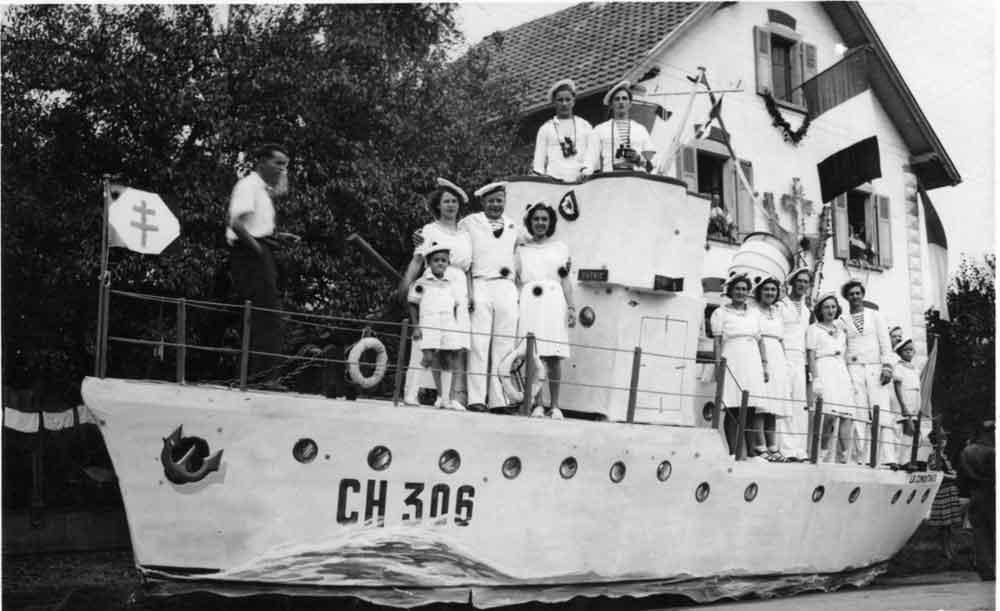 Fête de la Libération-bateau
