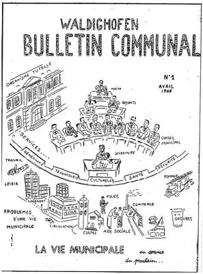 1er bulletin communal de WALDIGHOFFEN - Avril 1965