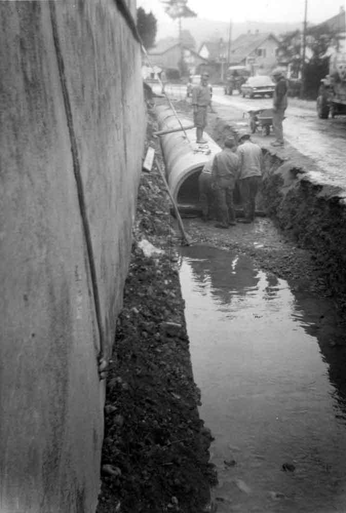 Réfection de l'aqueduc-Waldighoffen-1969