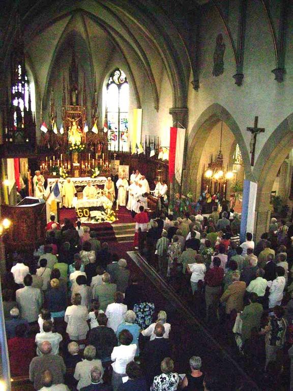 Messe-Waldighoffen-Jubilé 3 prêtres