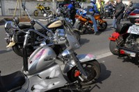 Rassemblement de motos