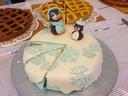 Le gâteau de Marion Metzger, de Hagenbach, la gagnante du concours de pâtisseries
