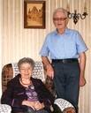 Odette et Lucien Polycarpe en retraite à Liepvre (photo DNA)