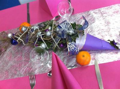 Magnifique décor de table