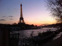 Paris le long de la Seine