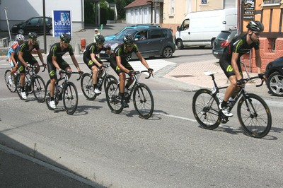 Tour d'Alsace 2012 dans Waldighoffen (1)