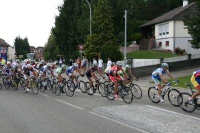Tour Alsace 2011 - début de peloton