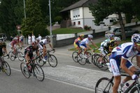 Tour Alsace 2011 - queue de peloton