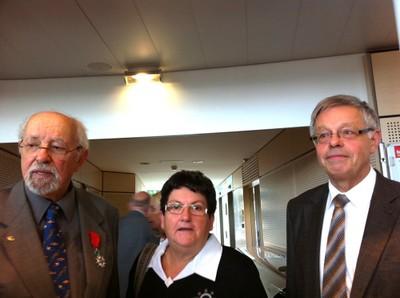 Henri Goetschy, Charlotte Lidy et Henri Hoff le 18 08 10 à Colmar