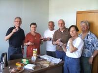 L'équipe de Caritas basée à Oberdorf