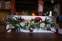 Le tableau floral créé par Virginie Chrétien