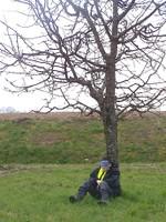 2013-04-02 CE2CM1 Très concentré pour capter tous les bruits environnants !