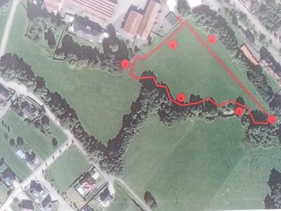 Sentier pédagogique 2014 - Plan du parcours