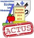 Année scolaire visuel actus 2014/2015