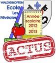 Année scolaire visuel actus 2012/2013