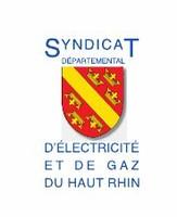 Logo Syndicat départemental d'électricité et de gaz du Haut-Rhin