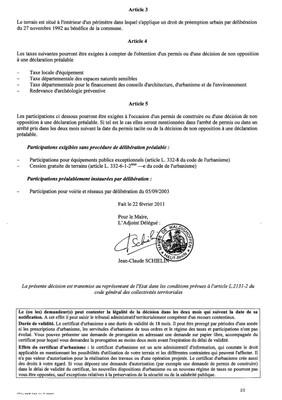 Certificat d'urbanisme n°11E0003 - Me MEURLET-KOHLER