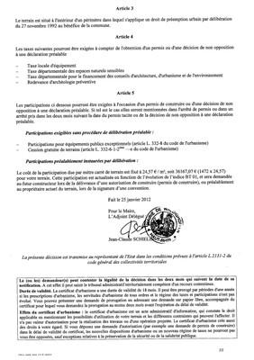 Certificat d 39 urbanisme n 12e0001 me stehlin waldighoffen for Certificat d urbanisme permis de construire