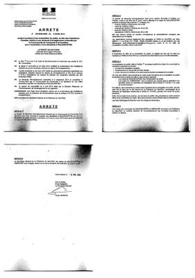 Arrêté 2013098.0005 - déchèterie
