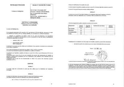 Certificat d 39 urbanisme d livr ma tre stehlin waldighoffen for Certificat d urbanisme permis de construire