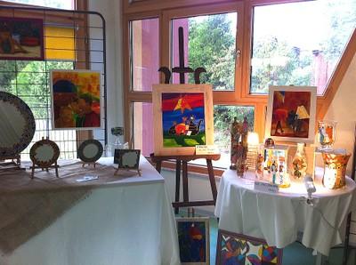 Expo de Caroline Ferrara en octobre 2012