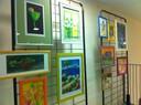 Oeuvres de Caroline Ferrara à la médiathèque
