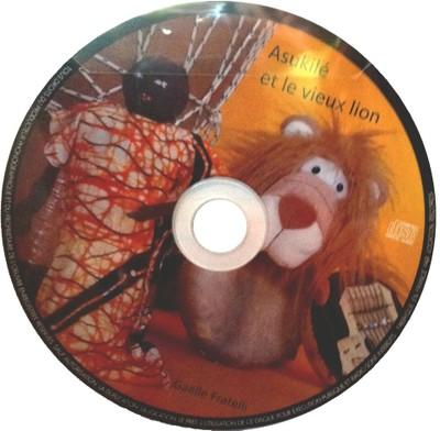 Le CD Audio Asukilé et le vieux lion