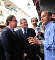 Frédéric Lefebvre, Jean-Luc Reitzer et Morand Beck