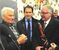Raymond Poulidor, Nicolas Jander et Armand Reinhard