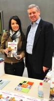 Avec Gérard Porte, ancien médecin du Tour