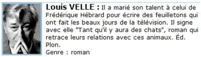 Bandeau Louis VELLE