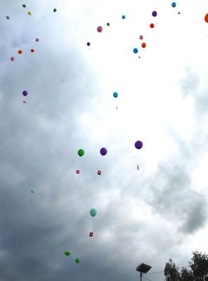 Le ciel de Waldighoffen plein de ballons