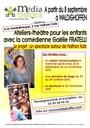 Affiche Ateliers-théâtre avec Gaëlle Fratelli