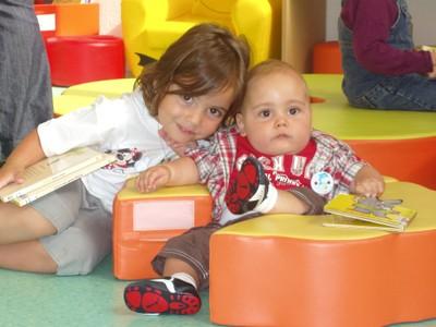 Nathan et sa soeur Léa