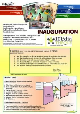 Programme première page