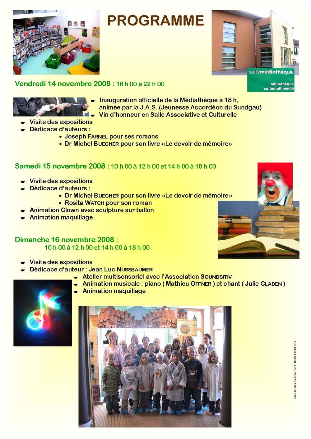 Programme page deux