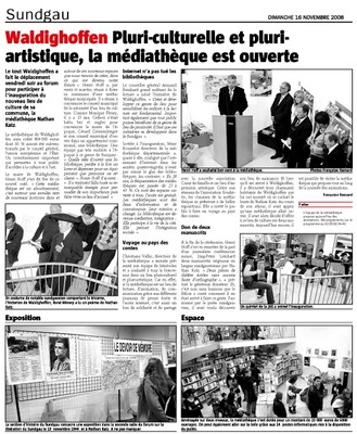 Article l'Alsace