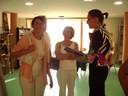 2 juillet 2010 : les invités sont accueillis par Marie-Chantal !!