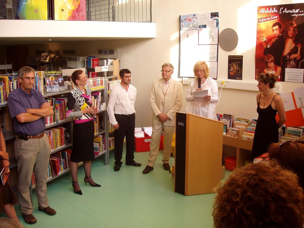 Partie officielle de la soirée du 2 juillet 2010 avec Kathya Cautillo