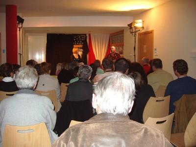 """Les spectateurs de """"Village cherche idiot"""" à Waldighoffen"""