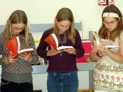 Des filles très studieuses