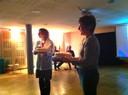 Les deux gâteaux d'anniversaire de la Médiathèque Nathan Katz