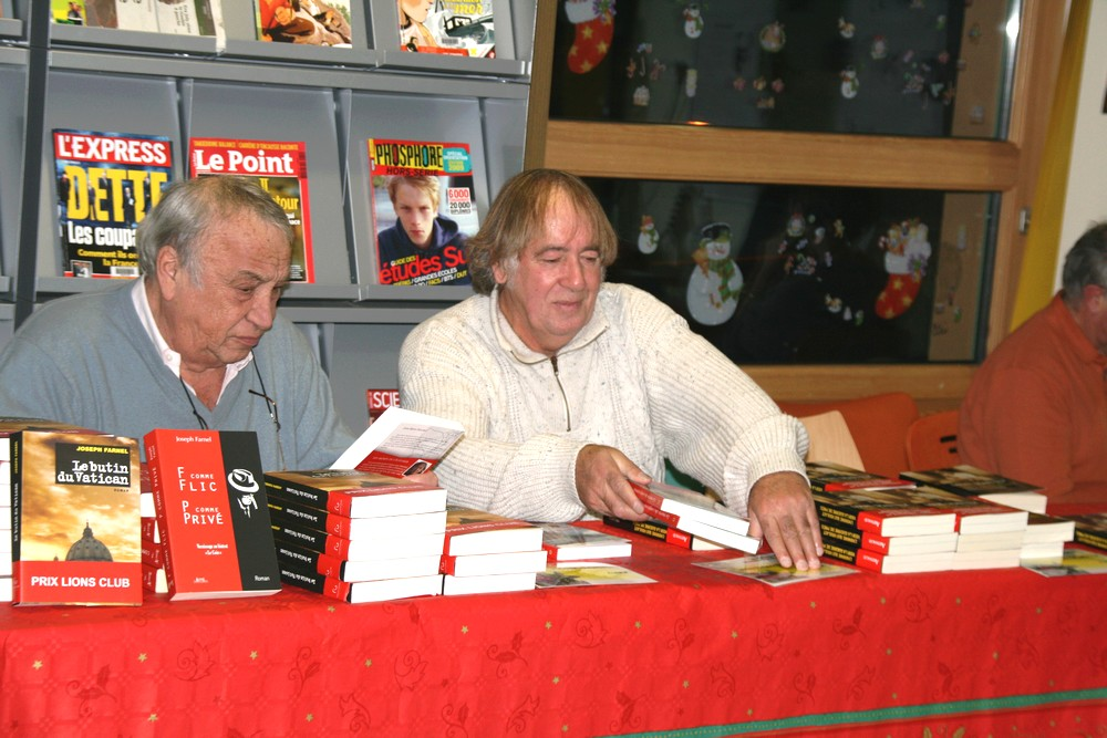 Les auteurs Joseph Farnel et Jean-Marie Stoerkel