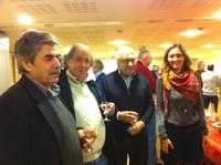 Louis Schittly, Jean-Marie Stoerkel, Jean-Paul Girard et Gaëlle Fratelli