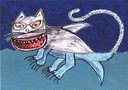 Le Chat-Requin - le dessin du spectacle