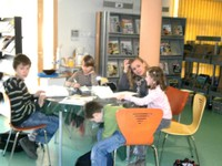L'aide aux devoirs en médiathèque avec Marie Schilb