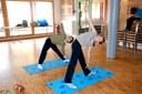 Des élèves du cours de YogaKids de Jennifer Gibbs à Waldighoffen
