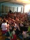 La salle associative pleine