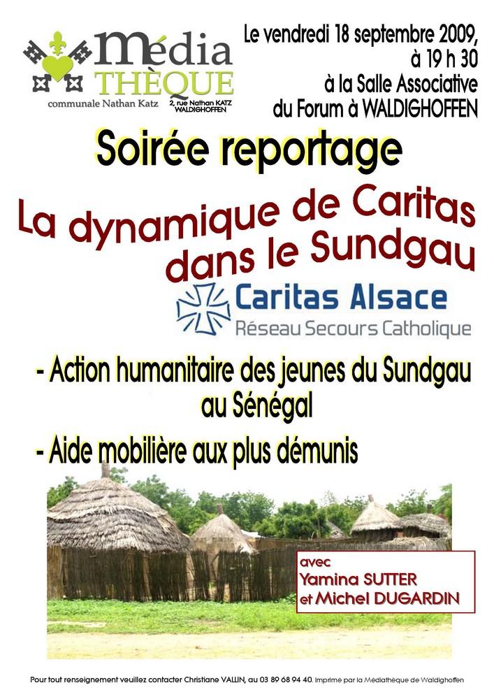 Affiche Caritas le 18 sept 2009