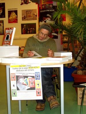 le 9 décembre 2009, Jay ALIS à la Médiathèque